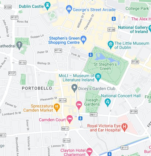 Google Map Of Dublin Ireland.Guinness Storehouse Google My Maps