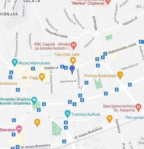 Os Matka Laginje Zagreb Google Moje Karte