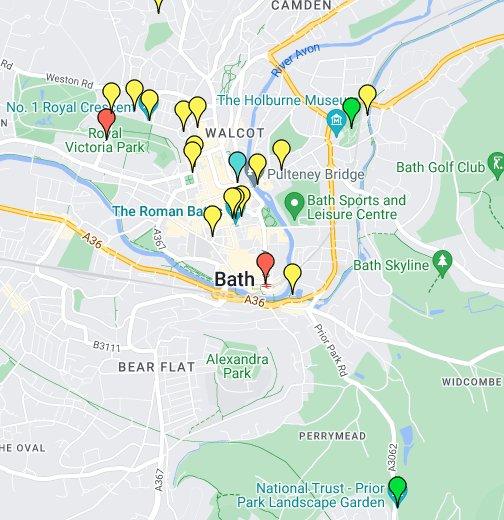 Bath, England - Google My Maps on bolivia map, burkina faso map, paraguay map, marruecos map, trinidad y tobago map, iran map, chad map, granada map, bangladesh map, serbia map, islandia map, españa map, portugal map, corea del sur map, uganda map, el salvador map, ucrania map, taiwan map, sri lanka map,