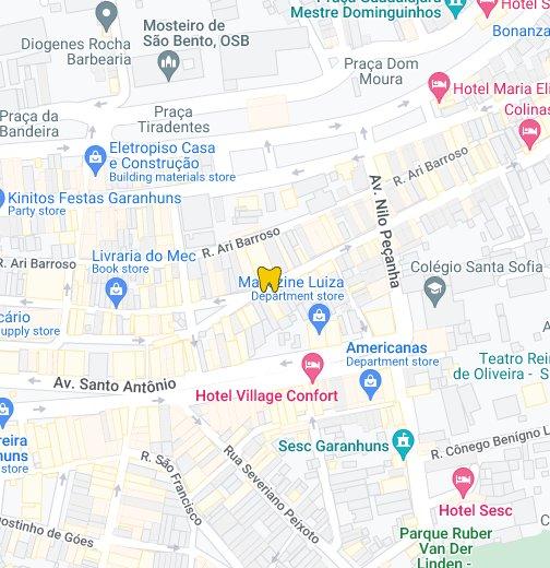 Odonto Garanhuns - Garanhuns map