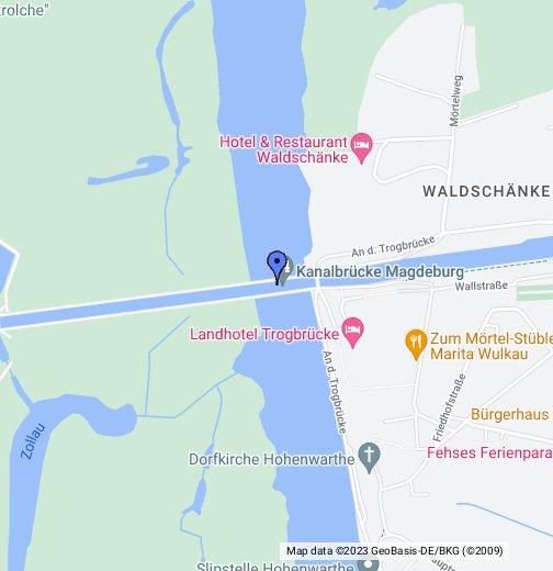 Magdeburg Water Bridge In Germany The Longest Navigable Aqueduct