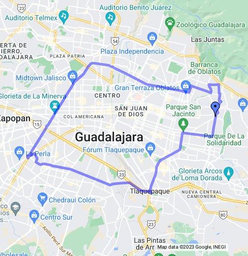 Guadalajara Ruta 371 Servicios Y Transportes