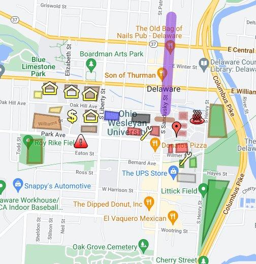 Owu Flaws Google My Maps