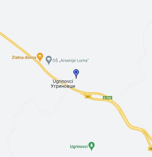 ugrinovci mapa Etna   Google My Maps ugrinovci mapa
