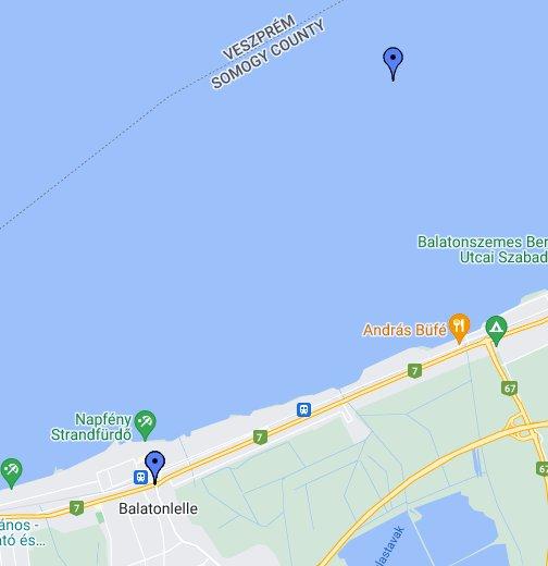 balaton térkép google Balaton és környéke   Google My Maps balaton térkép google