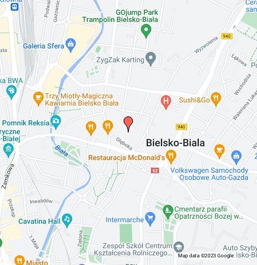 Bielsko Biała Google My Maps