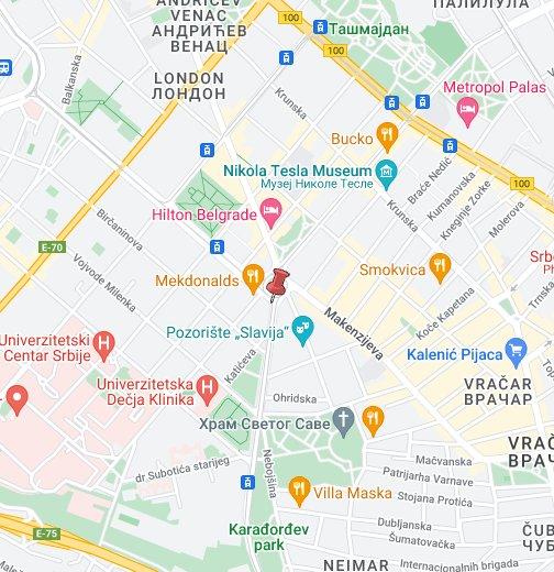 infektivna klinika beograd mapa Belgrade location   Google My Maps infektivna klinika beograd mapa
