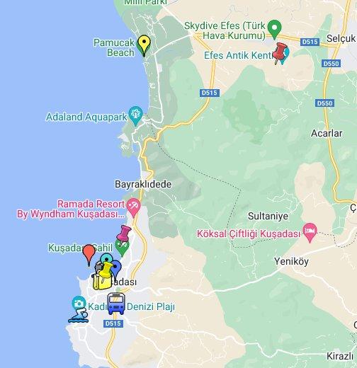 Kuşadası, Turkey - Google My Maps on bodrum turkey map, antalya turkey map, aphrodisias turkey map, side turkey map, turkey country map, temple of artemis at ephesus map, ephesus turkey map, midyat turkey map, istanbul turkey map, santorini greece map, marmaris turkey map, city of ephesus map, uchisar turkey map, bosporus dardanelles map, world map, cappadocia turkey map, mount nemrut turkey map, assos turkey map, derinkuyu turkey map, artvin turkey map,