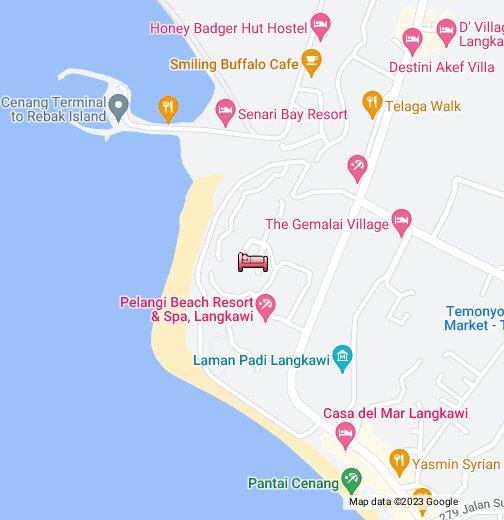 Meritus Pelangi Beach Spa Resort Langkawi Google My Maps