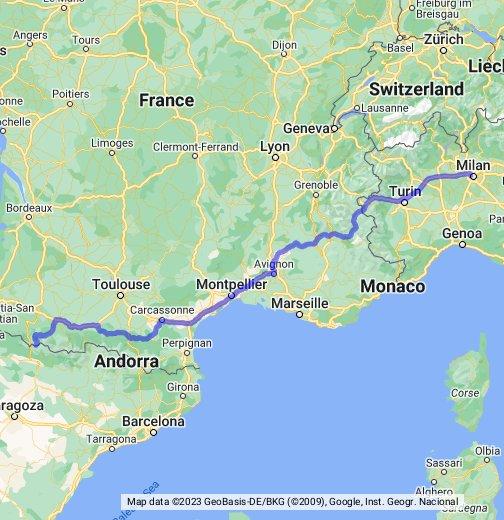 Cartina Francia Sud Dettagliata.Francia Del Sud Google My Maps