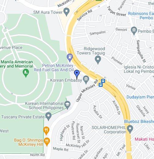 British Embassy Manila Philippines - Us embassy manila address map