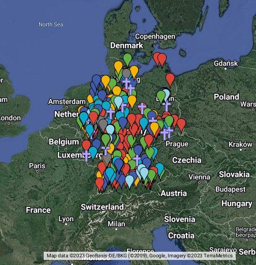 Karte Der Einzelfälle