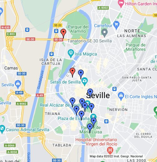 España - Sevilla - Google My Maps