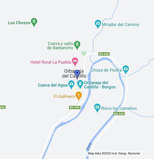 Orbaneja Del Castillo Mapa.Orbaneja Del Castillo Burgos Google My Maps