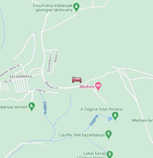 salgóbánya térkép Salgóbánya – Google Saját térképek