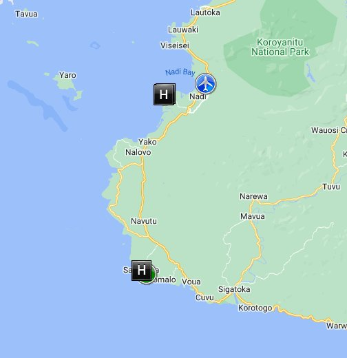 Fiji Google My Maps
