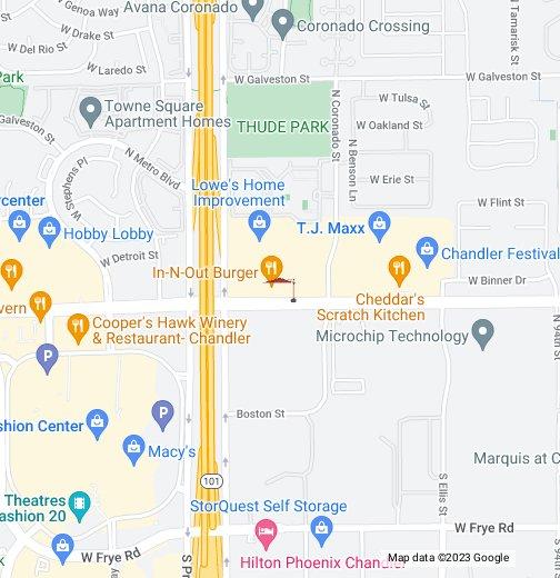 Chandler - Google My Maps on