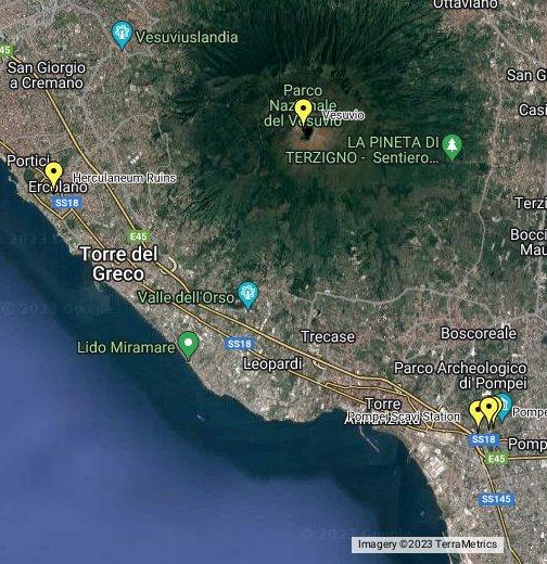 Cartina Italia Google Maps.Pompeii Google My Maps