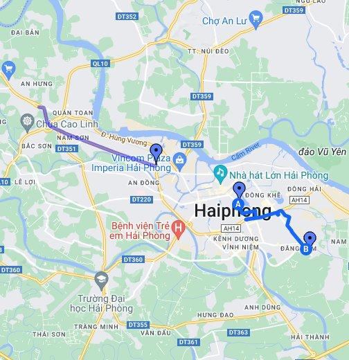 Thành phố Hải Phòng - Google My Maps