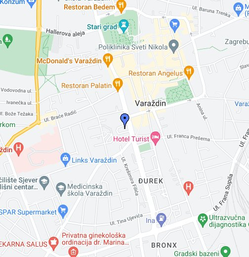 Autobusni Kolodvor Varazdin Google My Maps