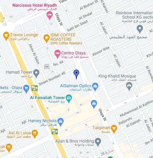 Riyadh - Google My Maps