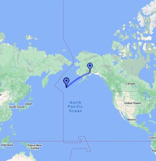 Adak Island Alaska Google My Maps