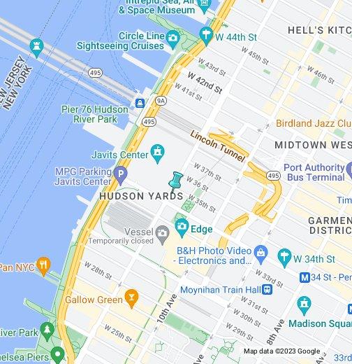 Javits Convention Center - Google My Maps