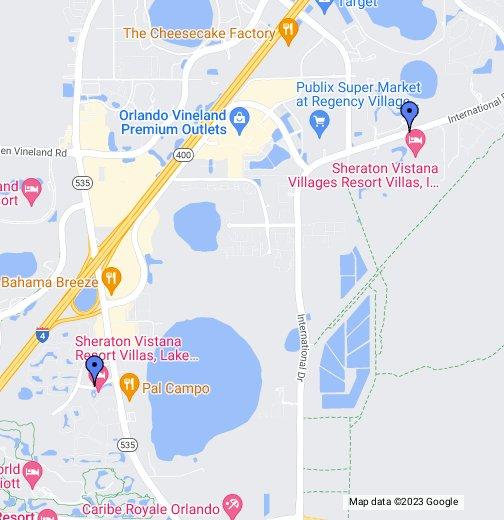 Sheraton Vistana - Google My Maps