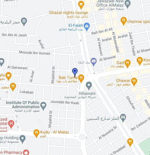 Regional Office Riyadh Google My Maps