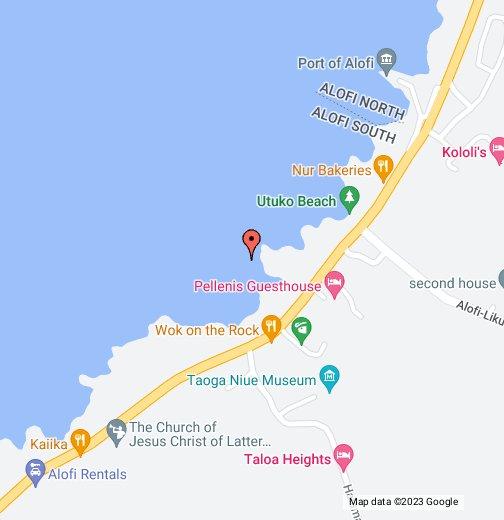 Niue - Niue map