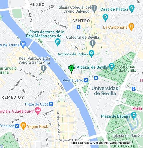 Seville Spain Google My Maps
