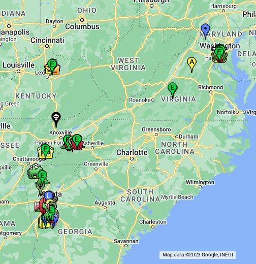 Walking Dead Map My Blog