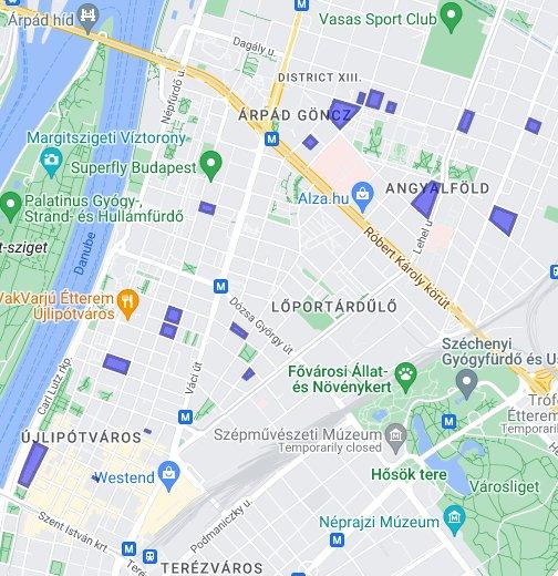 budapest kerület térkép letöltés Budapest   Épületek a 13. kerületben – Google Saját térképek budapest kerület térkép letöltés
