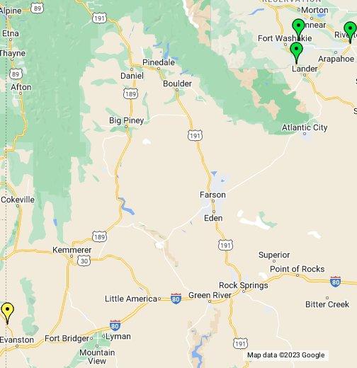 Wyoming Casino Guide Google My Maps