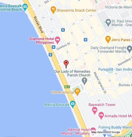 Palacio de Manila   Google My Maps