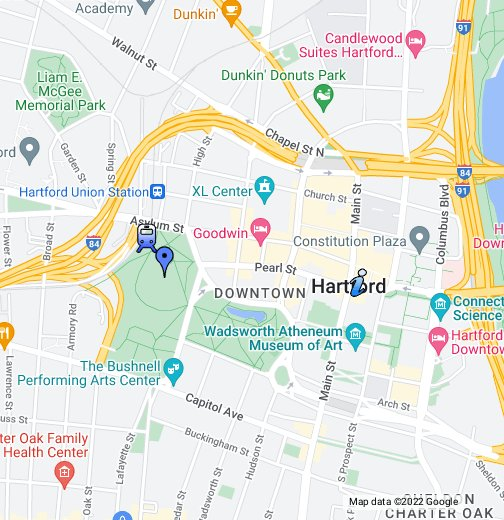 Hartford Connecticut - Hartford usa map