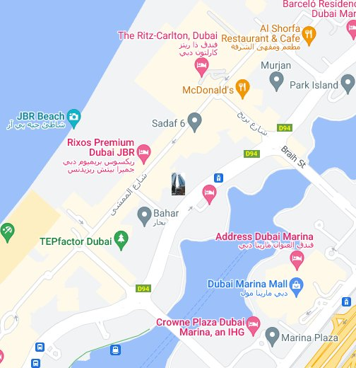 Al Fattan Tower Dubai UAE - Google My Maps