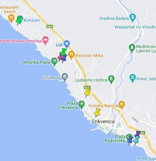 debrecen térkép google map Crikvenica   Google My Maps debrecen térkép google map