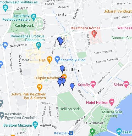balaton utca térkép Abbázia Club Hotel   Keszthely – Google Saját térképek balaton utca térkép