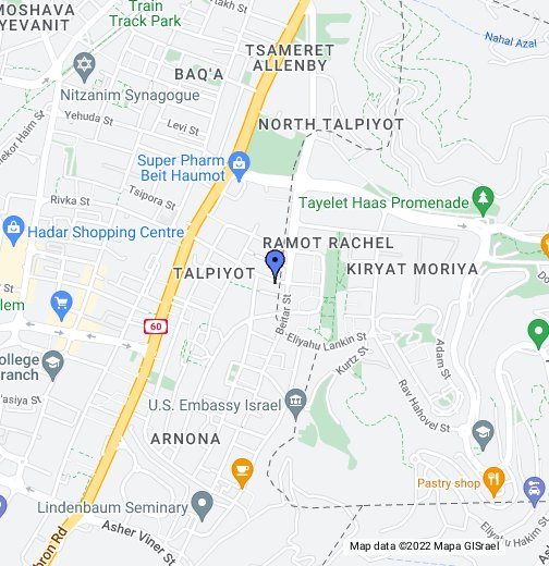 Israel - Google My Maps on