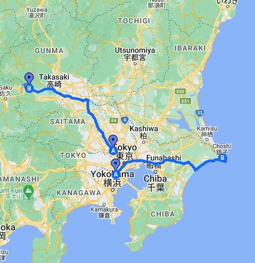 Walking Directions To Yokokawa Station Gunma Prefecture Japan - Japan map gunma
