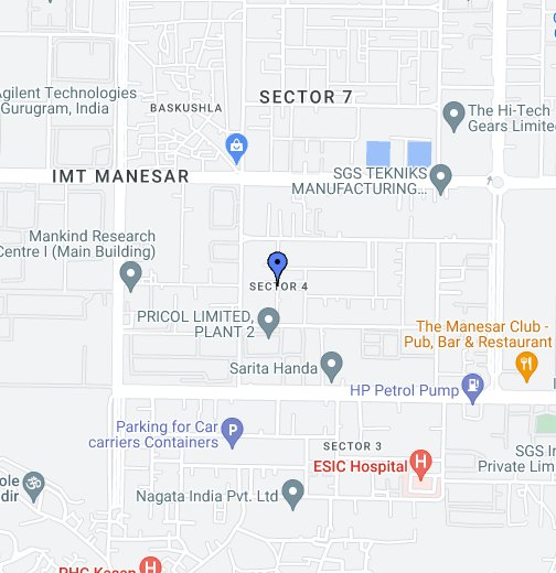 Sector 4, IMT Manesar - Google My Maps