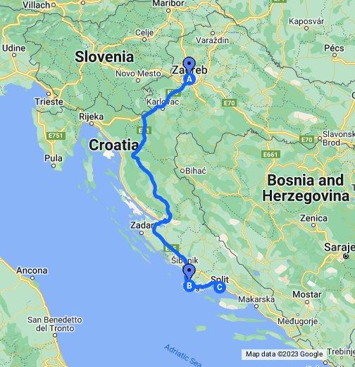 Directions To Rogoznica Croatia Google My Maps