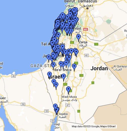 eilat karta carmelist (Middle East) (Google Мои карты) eilat karta
