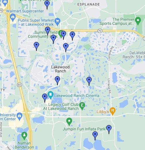 Lakewood Ranch Florida Map Lakewood Ranch   REAL ESTATE, AREA INFORMATION   BRADENTON, FL