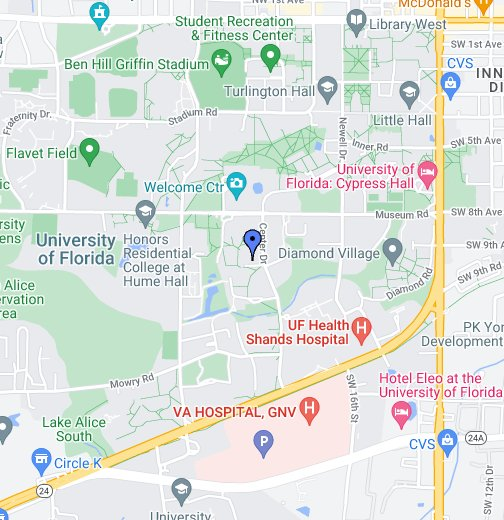 University Of Florida Location Map.University Of Florida Department Of Electrical And Computer