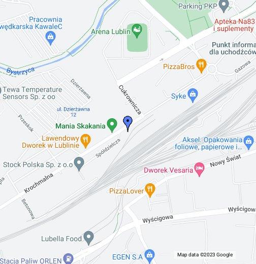 Dywany łuszczów Krochmalna 8a Moje Mapy Google