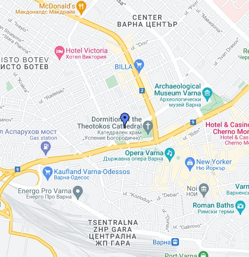 Hotel Divesta Varna Bulgaria Google My Maps - Varna map