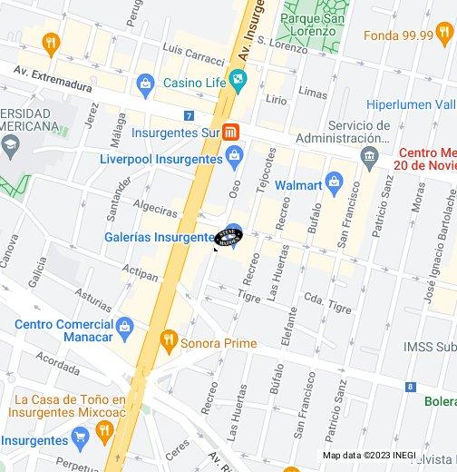 Insurgentes Steve Madden Galerias Google México Maps My 53Tlc1uFKJ