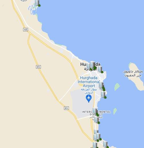 egipat mapa Egipat, Hurgada   Google My Maps egipat mapa